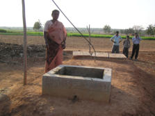 SKG Sangha Underground biogas plant South India