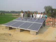 Aryavart Gramin Bank with solar panels in Lucknow