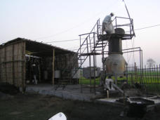 Husk Power Energy gasification system in North India