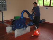 Practical Action micro-hydro systems for electricity generation in Peru
