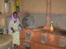 Renewable Energy Centre Injera stove in Eritrea