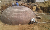 Large brick dome plant built for CMC Vellore, South India